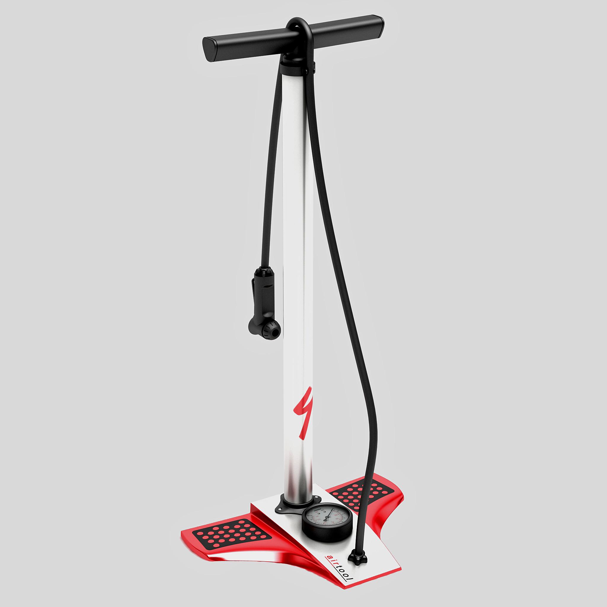 bicycle tire pump 3d model