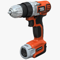 Drill Black and Decker LDX112C(2)