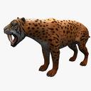 Smilodon 3D models