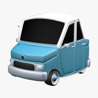 3ds antique cartoon car