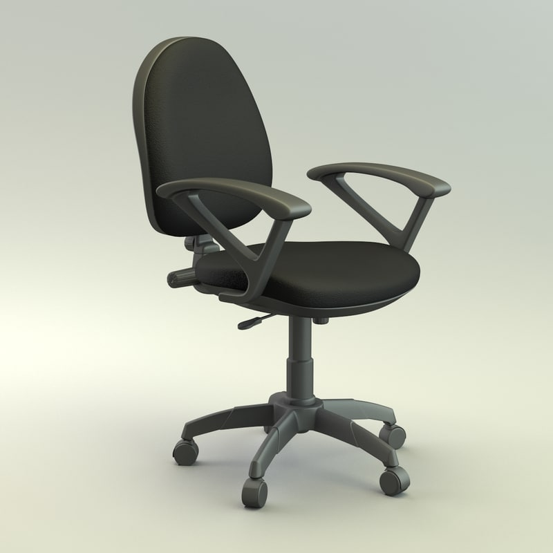 office chair 3d max