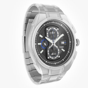 citizen watch super titanium 3d max