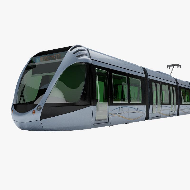 3d model streetcar