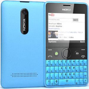 3dsmax nokia asha 210 blue