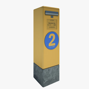 mail post box 3d 3ds