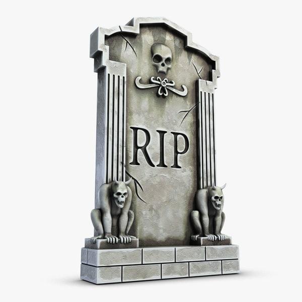 gravestone 3 3d 3ds