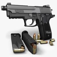 Sig Sauer P229 Dark Elite TB 9mm