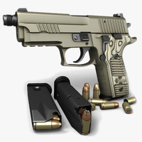 Sig Sauer P229 Scorpion TB 9mm