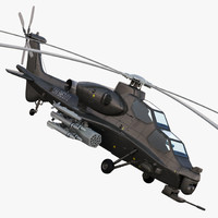 China Armed Helicopter - PLA-WZ10