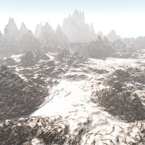 3d model land terrain