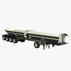 lwo dump smithco sx5-5221-dt trailer