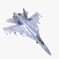 shenyang j15 flying shark 3d model