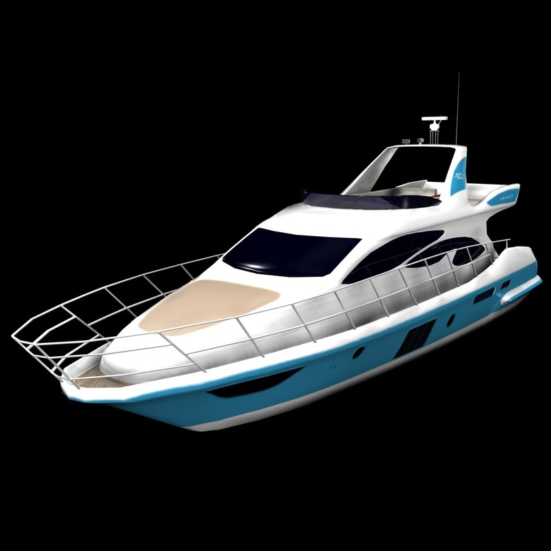 3ds max powered azimut yachts