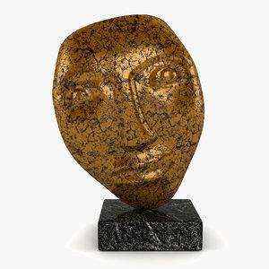 face sculpture 3ds