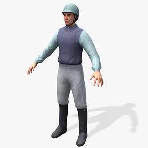 3d real-time jockey