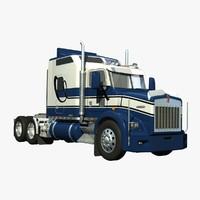 t800 truck sleeper 3d lwo