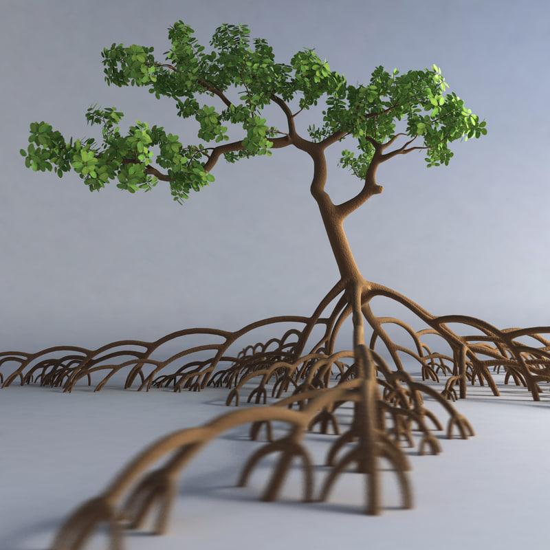 mangrove tree 3ds