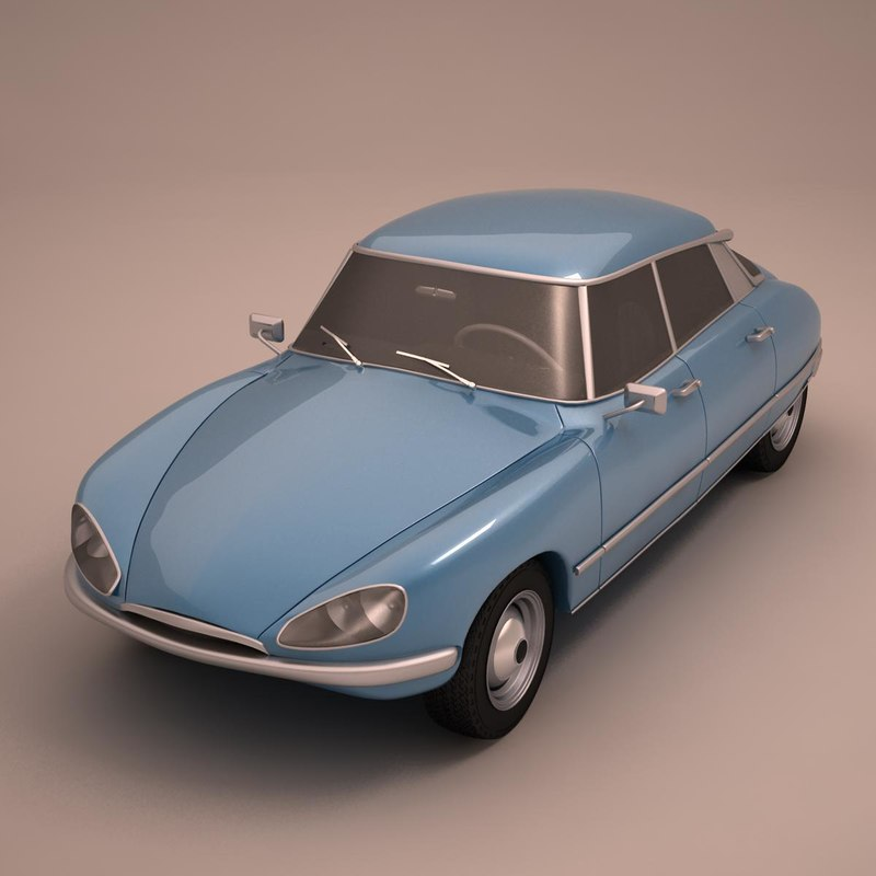 ds 1972 3d model