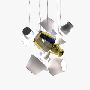 3d model of antonangeli novecento ceiling
