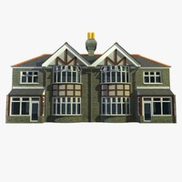 British 2 Story Semi Detached House Unit 18