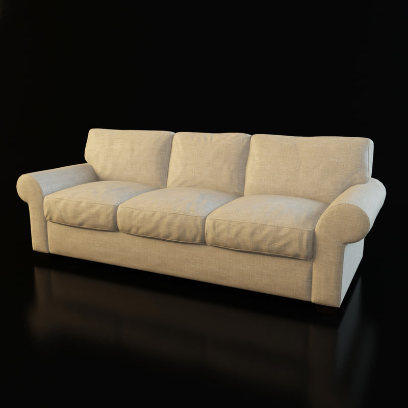 3d model classical sofa