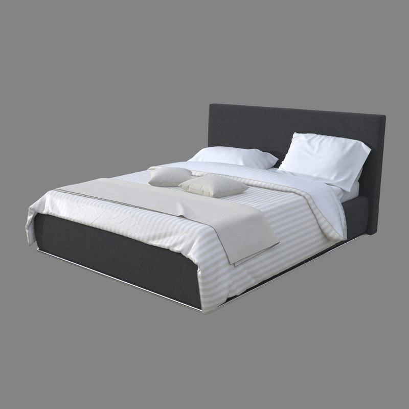 3d model realistic linen