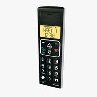 3dsmax cordless phone