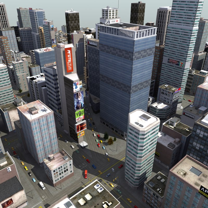 midtown city 3d 3ds
