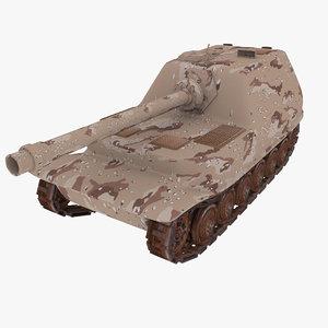 3d elephant tank