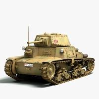 3d model italian fiat 40 medium