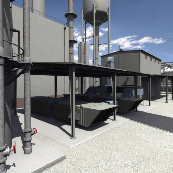 industrial plant complex oil max