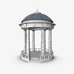 arbor columns 3ds