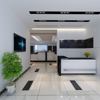 3d office corporate