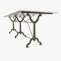 Restoration Hardware - Factory Zinc & Cast Iron Dining Tables