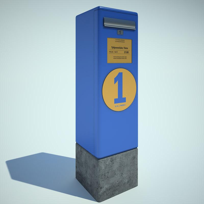 mail post box max