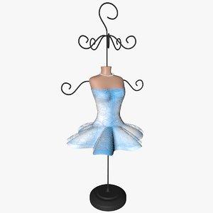 jewellery hanger 3d model