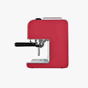 3d model espresso machine