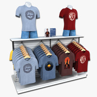 Mens T-Shirt Display Rack