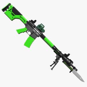 zombie m16 max