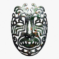 x metal tribal mask