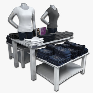 display tables women jeans max