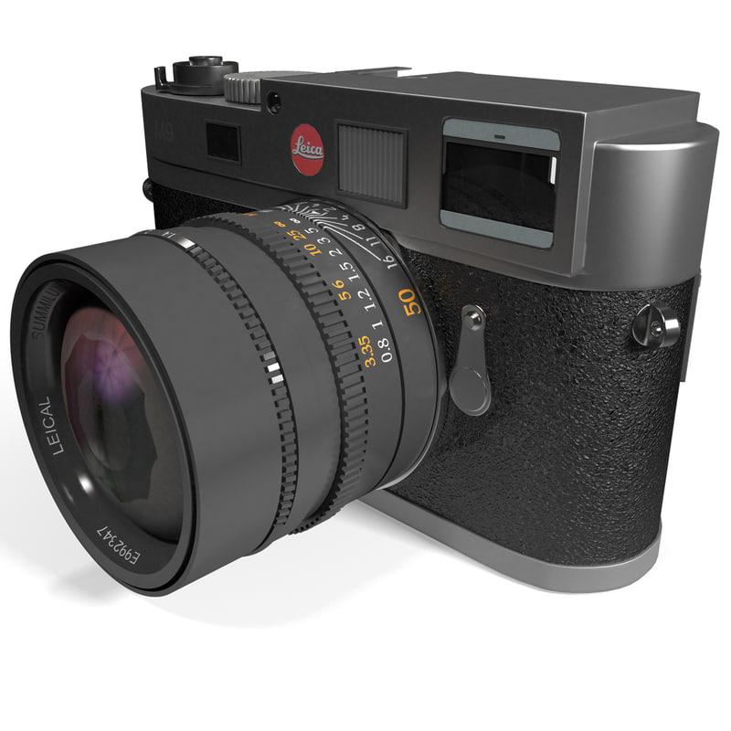 max camera leica m9 silver