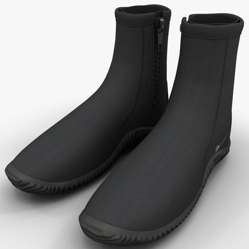max scuba diving boots