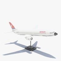 3d max boeing 737 800