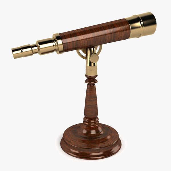 3dsmax desk telescope