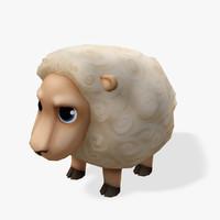 Real-Time Cartoon Sheep