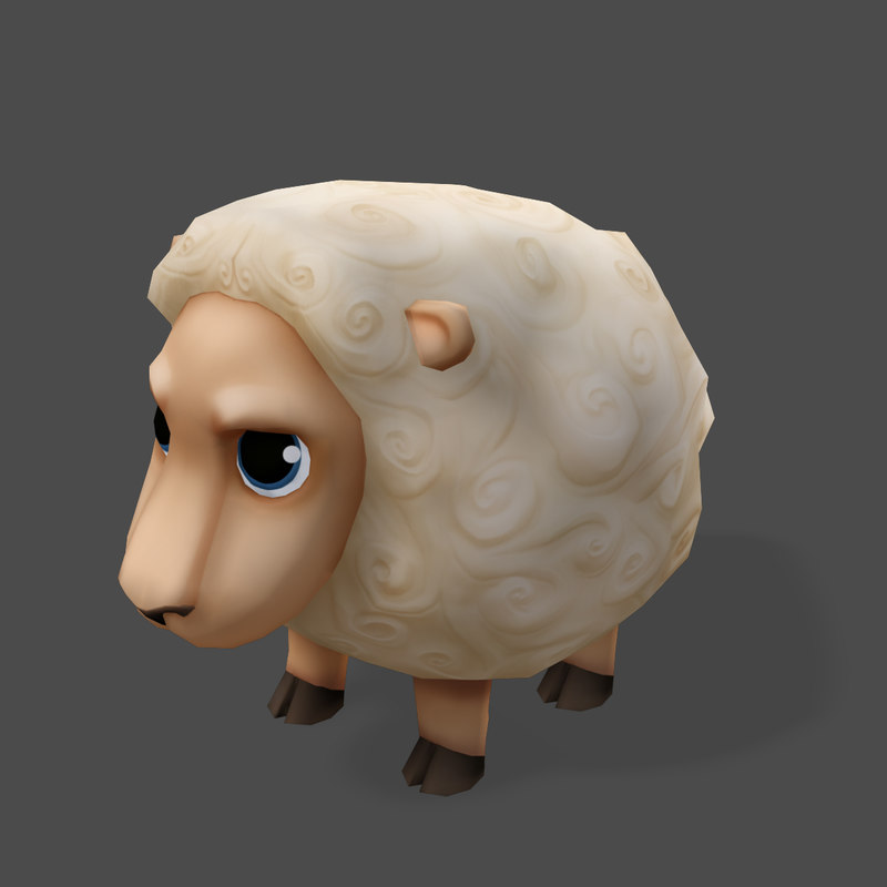 obj games cartoon animals sheep