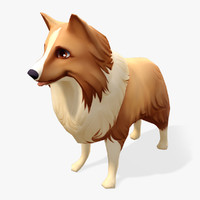 Real-Time Cartoon Sheltie