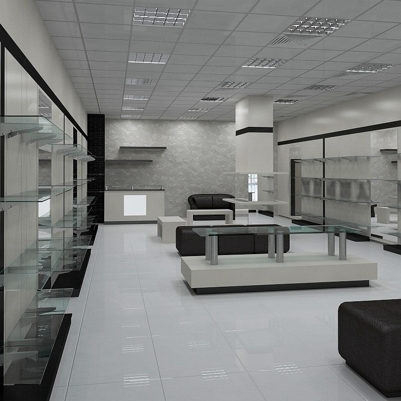 shoe shop interior max