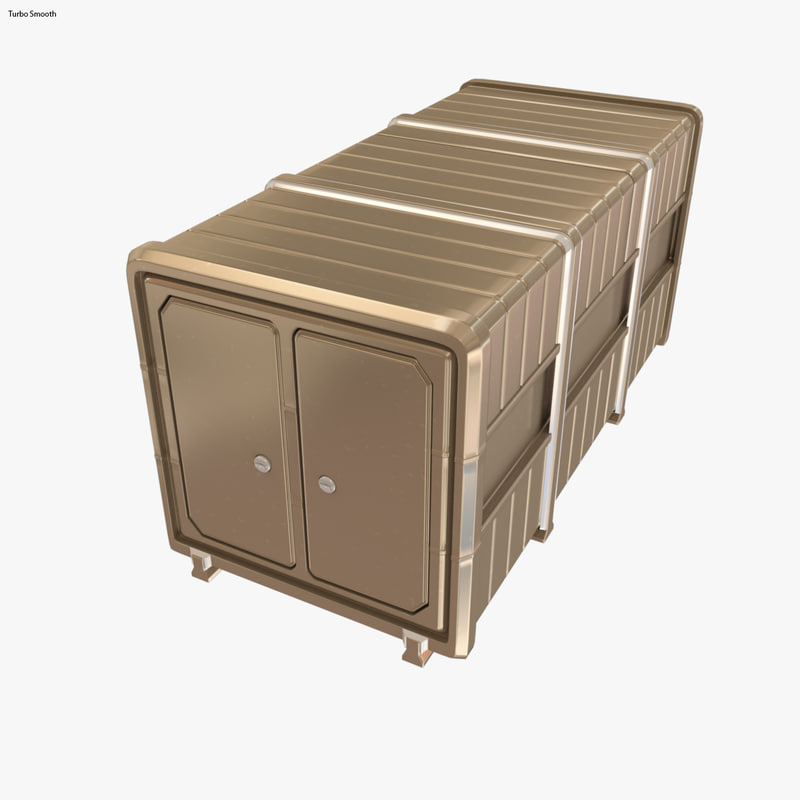 container 3d max